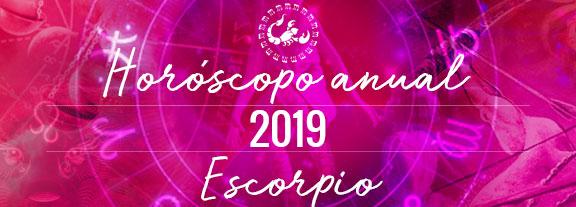 Horóscopo de Escorpio 2019