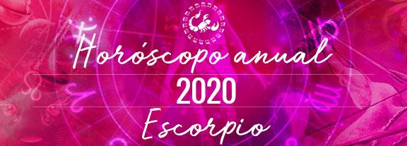 Horóscopo de Escorpio 2020