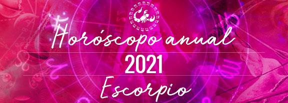 Horóscopo de Escorpio 2021