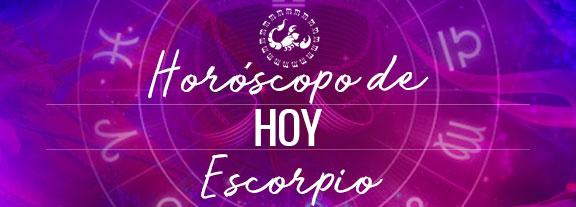 Horóscopo de Escorpio Hoy